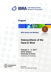 Osteosynthesis of the Hand & Wrist - Overview 1