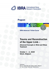 Trauma and Reconstruction of the Upper Limb – Advanced Concepts in Wrist and Elbow  Treatment - Overview 1