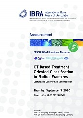 CT Based Treatment Oriented Classification in Radius Fractures - Overview 1