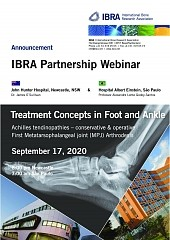 Treatment Concepts in Foot and Ankle - Overview 1