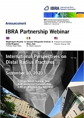 International Perspectives on Distal Radius Fractures - Overview 1
