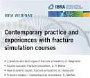 New Webinar available in the IBRA Virtual Campus